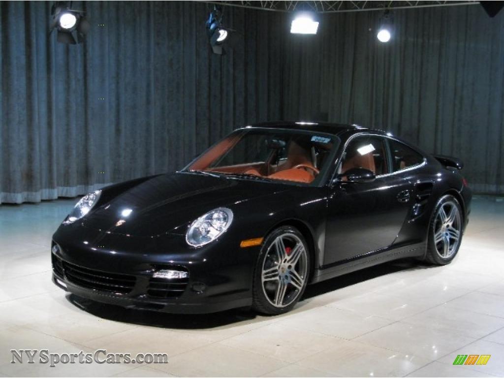 2007 Porsche 911 Turbo Coupe In Basalt Black Metallic
