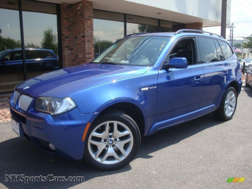 BMW X Si In Montego Blue Metallic F NYSportsCars - Blue bmw x3