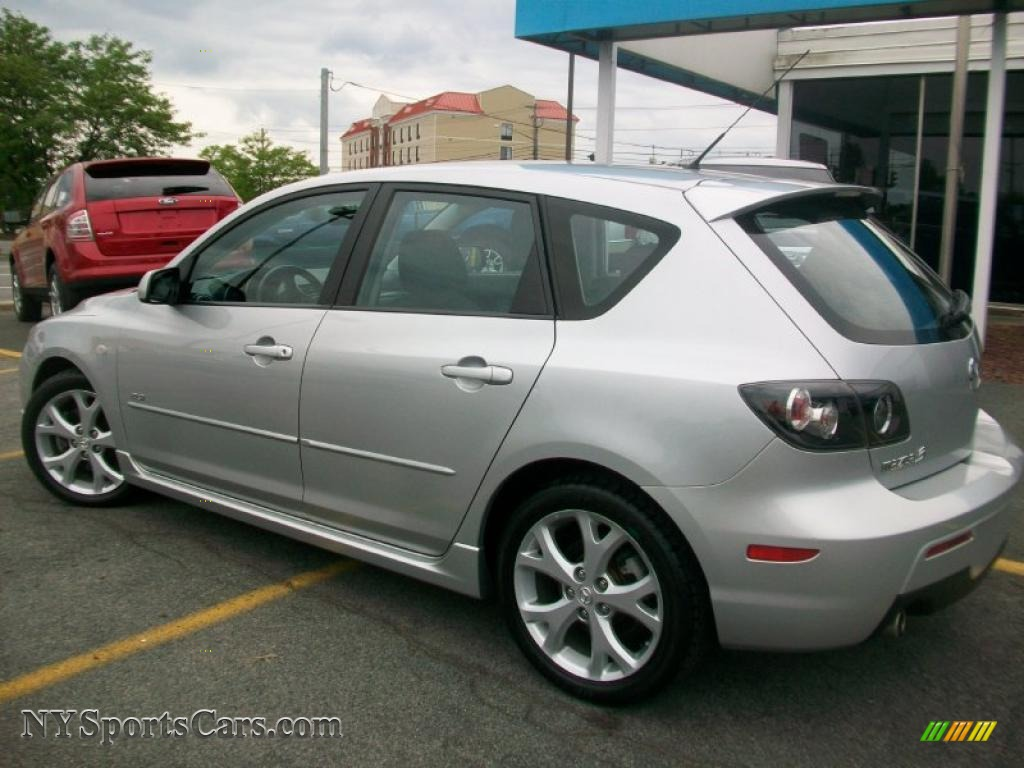 2007 mazda mazda3 s touring hatchback in sunlight silver metallic photo 3 617441. Black Bedroom Furniture Sets. Home Design Ideas