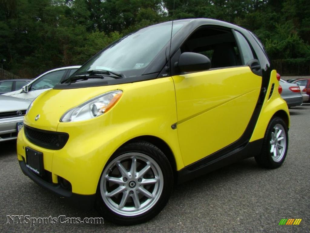 2008 smart fortwo passion coupe in light yellow 197969 cars for sale in. Black Bedroom Furniture Sets. Home Design Ideas