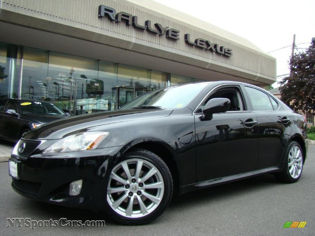 2007 lexus is 250 awd in obsidian black 014343 cars for sale in new york. Black Bedroom Furniture Sets. Home Design Ideas