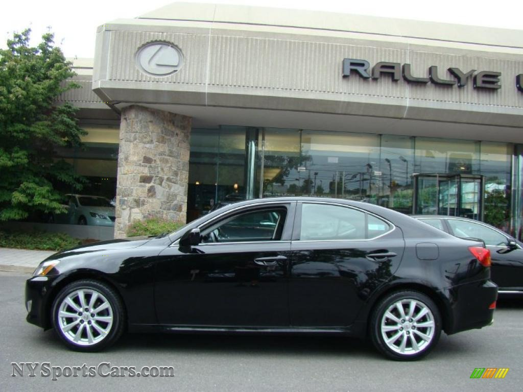2007 lexus is 250 awd in obsidian black photo 3 014343 cars for sale in. Black Bedroom Furniture Sets. Home Design Ideas