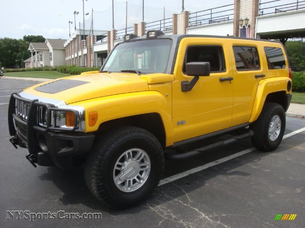 2006 Hummer H3 in Yellow - 252501 | NYSportsCars.com - Cars for sale