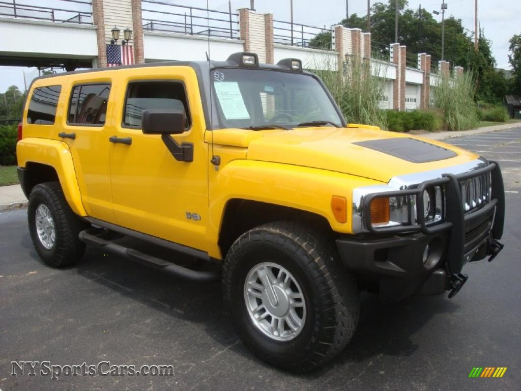 2006 hummer h3 in yellow photo 8 252501 cars for sale in new york. Black Bedroom Furniture Sets. Home Design Ideas