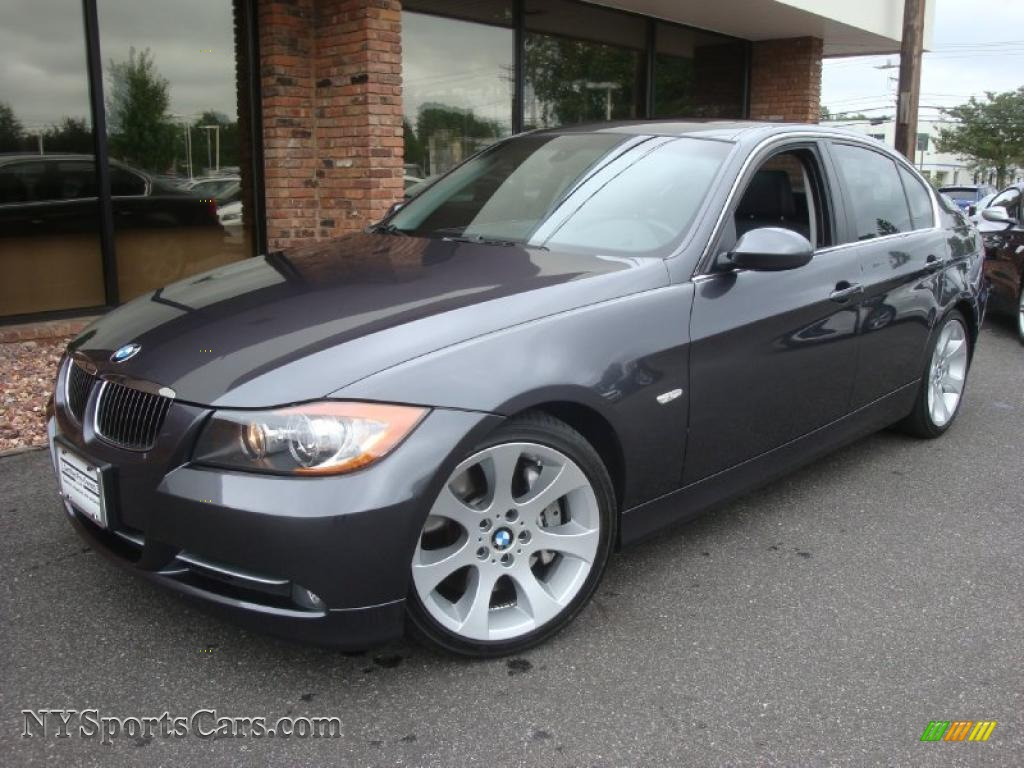 2007 bmw 3 series 335i sedan in sparkling graphite metallic h22751 cars. Black Bedroom Furniture Sets. Home Design Ideas