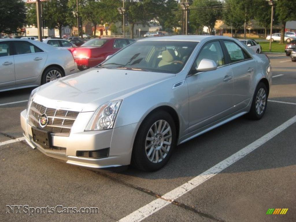 2010 Cadillac Cts 4 3 0 Awd Sedan In Radiant Silver