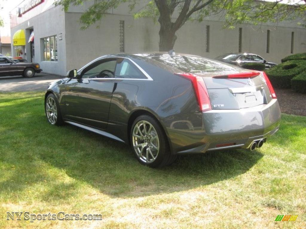 2011 cadillac cts v coupe in thunder gray chromaflair photo 4 103934. Black Bedroom Furniture Sets. Home Design Ideas