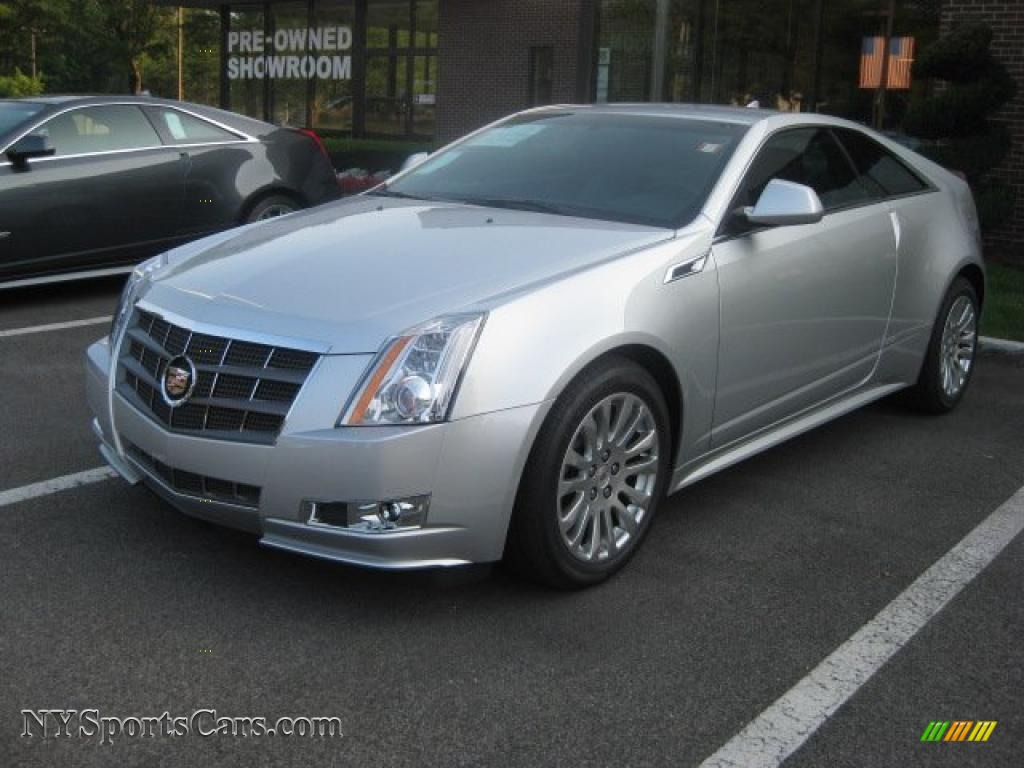 2011 Cadillac Cts 4 Awd Coupe In Radiant Silver Metallic