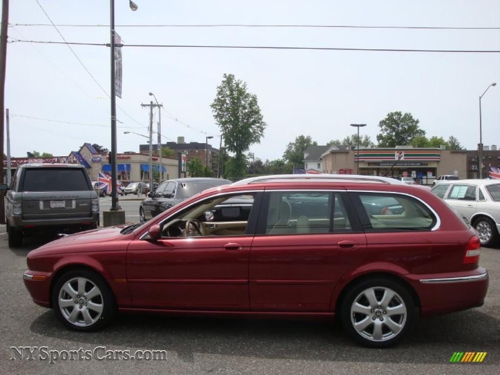2006 jaguar x type 3 0 sport wagon in radiance red metallic photo 3 e79882. Black Bedroom Furniture Sets. Home Design Ideas