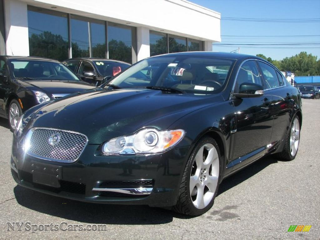 2009 jaguar xf supercharged in botanical green metallic r05130 cars for. Black Bedroom Furniture Sets. Home Design Ideas