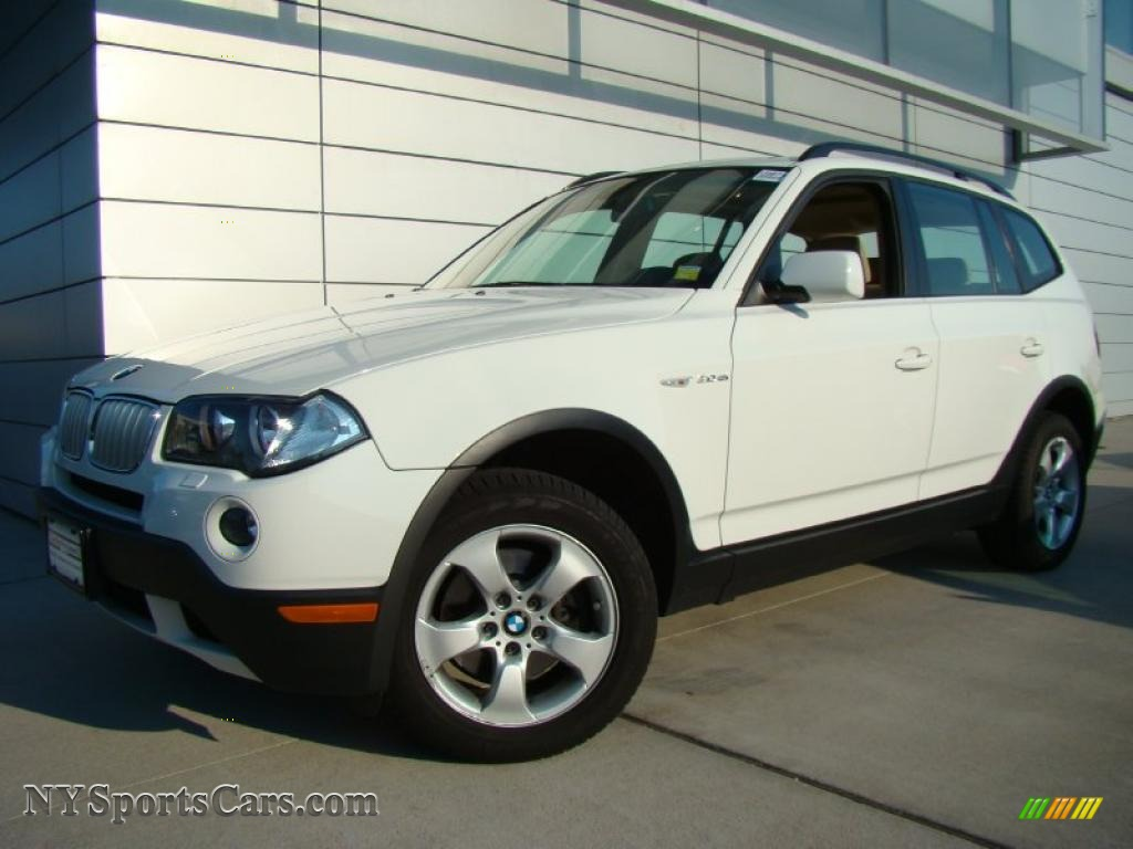 2007 bmw x3 in alpine white j01040 nysportscars. Black Bedroom Furniture Sets. Home Design Ideas