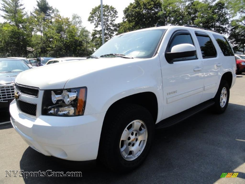 2009 chevrolet tahoe lt 4x4 in summit white 299867 cars for sale in new york. Black Bedroom Furniture Sets. Home Design Ideas