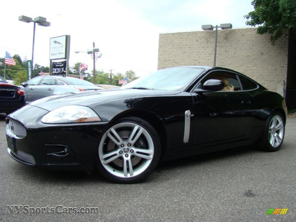 2009 jaguar xk xkr coupe in ebony black b28274. Black Bedroom Furniture Sets. Home Design Ideas