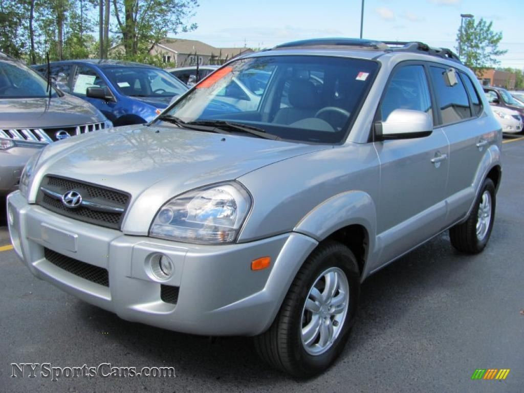 2007 hyundai tucson limited 4wd in platinum metallic photo. Black Bedroom Furniture Sets. Home Design Ideas