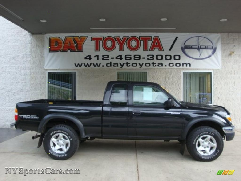 2004 Toyota Tacoma V6 Trd Xtracab 4x4 In Black Sand Pearl 433083 Nysportscars Com Cars For