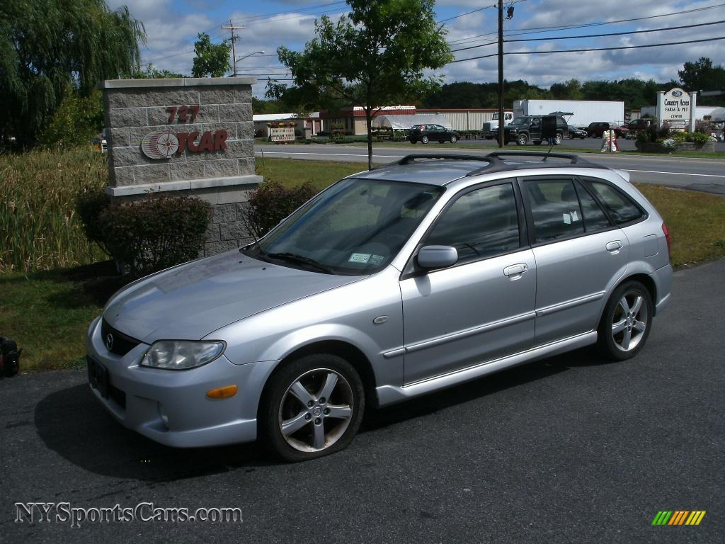 2003 mazda protege 5 wagon in sunlight silver metallic. Black Bedroom Furniture Sets. Home Design Ideas