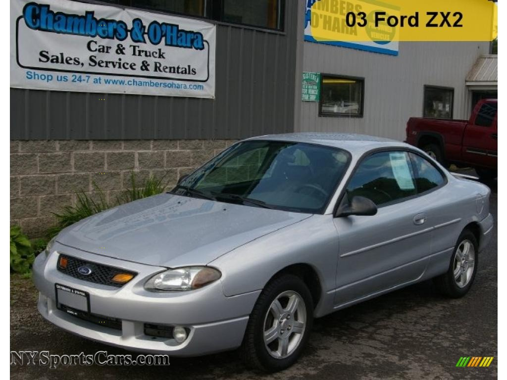 2003 Ford Escort ZX2 Coupe in Silver Frost Metallic - 100232 ...