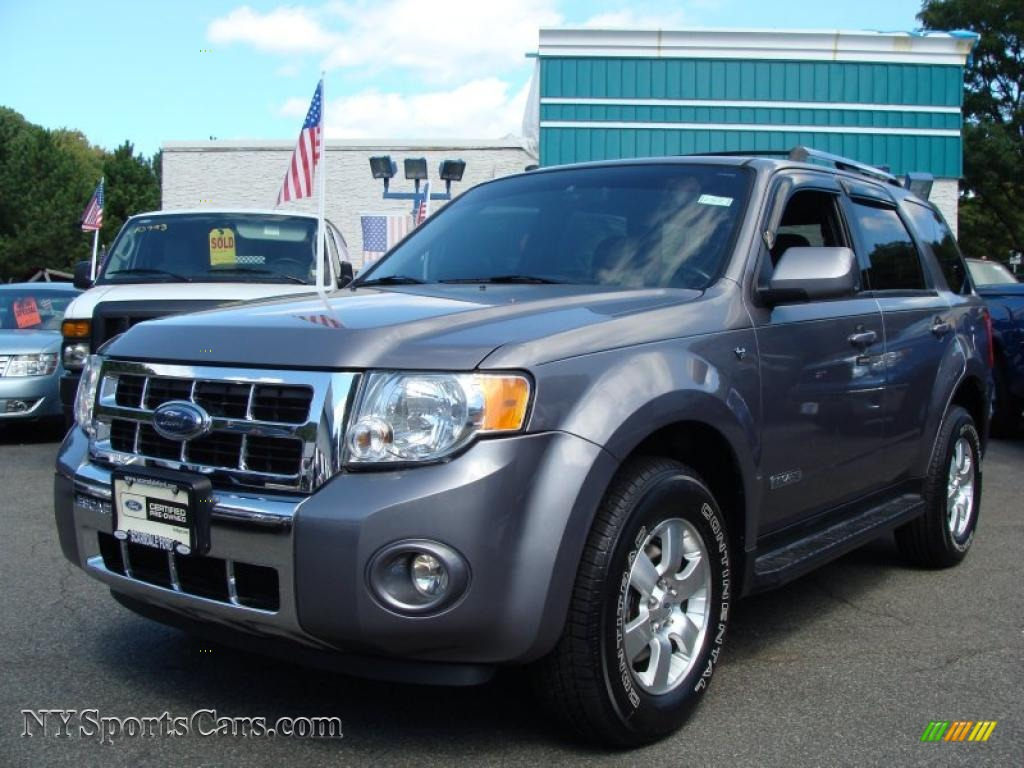 2008 ford escape limited 4wd in tungsten grey metallic a51761 cars for. Black Bedroom Furniture Sets. Home Design Ideas