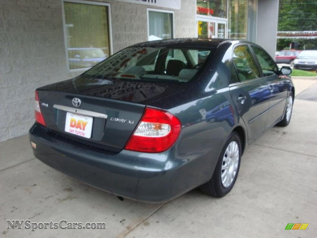 2003 Toyota Camry Le In Aspen Green Pearl Photo 2 685954
