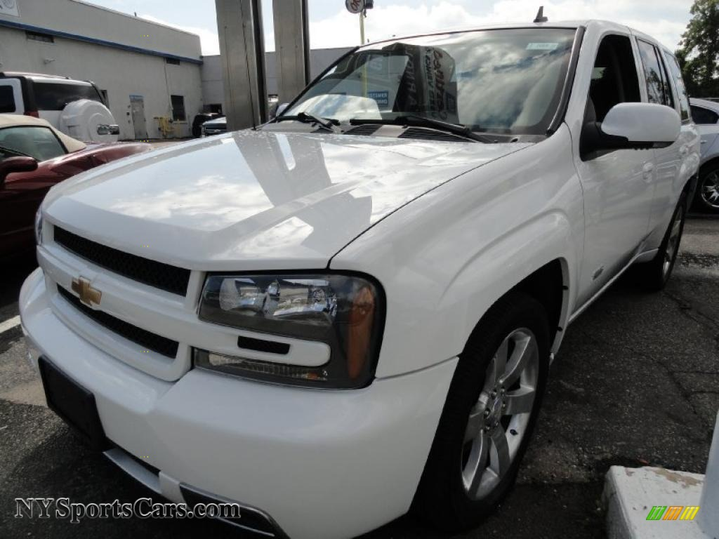2009 chevrolet trailblazer ss awd in summit white 102473 cars for sale in. Black Bedroom Furniture Sets. Home Design Ideas