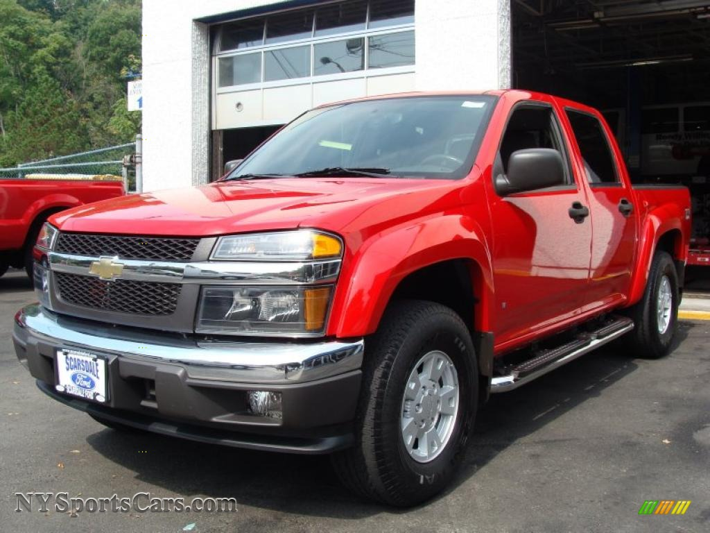 2006 chevrolet colorado z71 crew cab 4x4 in victory red 313536 cars for. Black Bedroom Furniture Sets. Home Design Ideas