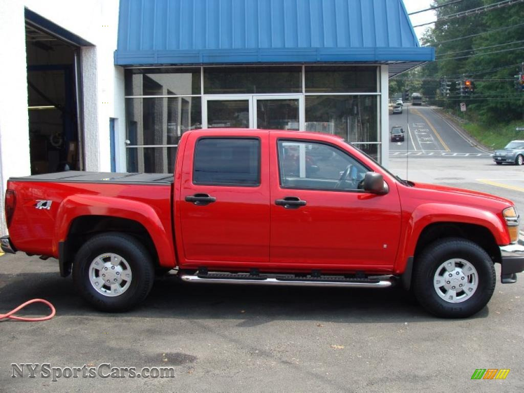 2006 chevrolet colorado z71 crew cab 4x4 in victory red photo 4 313536. Black Bedroom Furniture Sets. Home Design Ideas