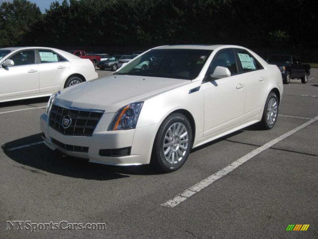 2011 Cadillac Cts 4 3 0 Awd Sedan In White Diamond Tricoat