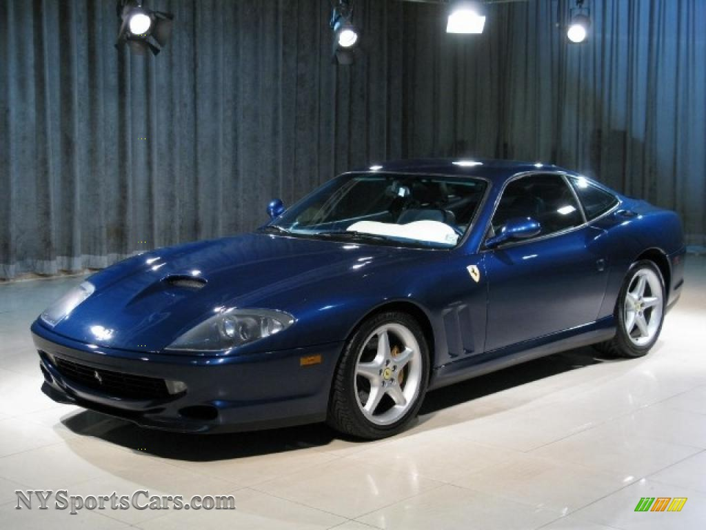 1999 Ferrari 550 Maranello In Dark Blue Metallic 115226