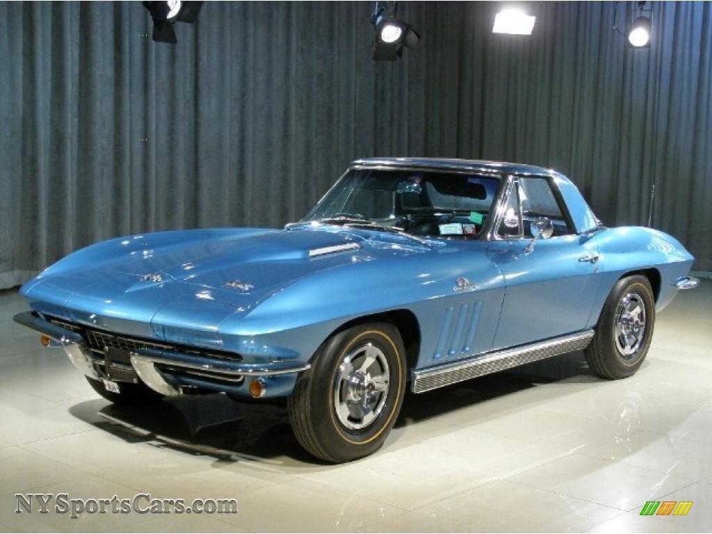 1966 Chevrolet Corvette Stingray In Nassau Blue 119112