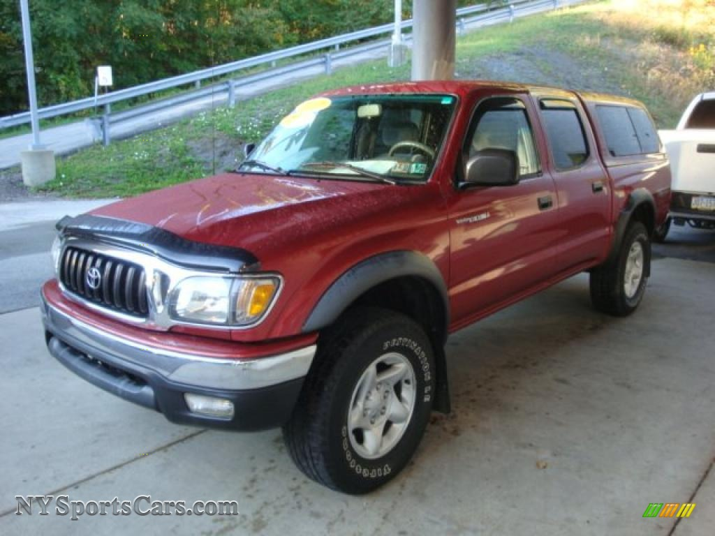 2001 toyota tacoma v6 trd double cab 4x4 in impulse red pearl photo 4 864886 nysportscars. Black Bedroom Furniture Sets. Home Design Ideas