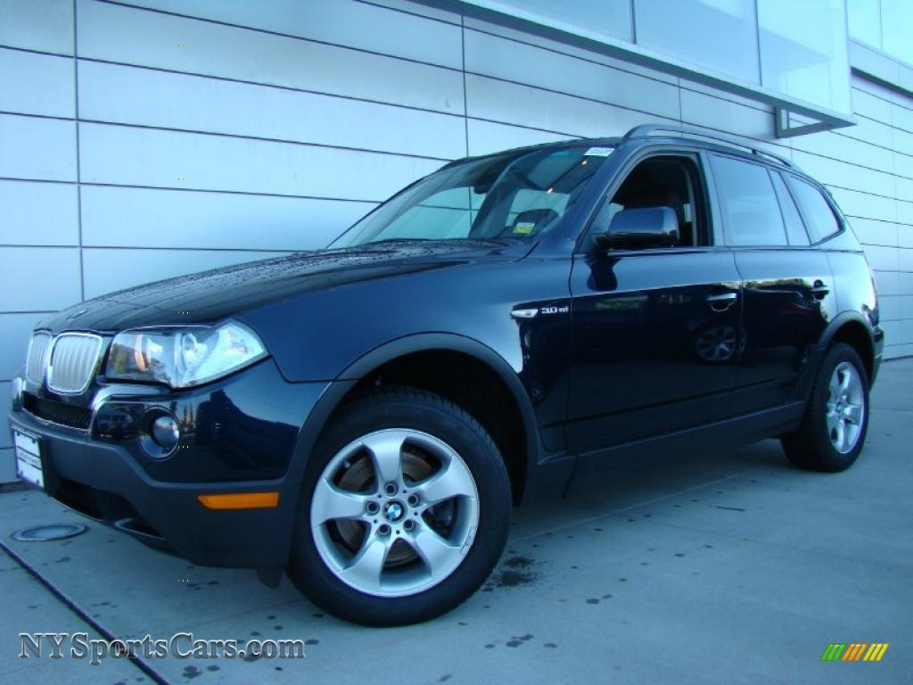 2008 bmw x3 in monaco blue metallic j13781. Black Bedroom Furniture Sets. Home Design Ideas
