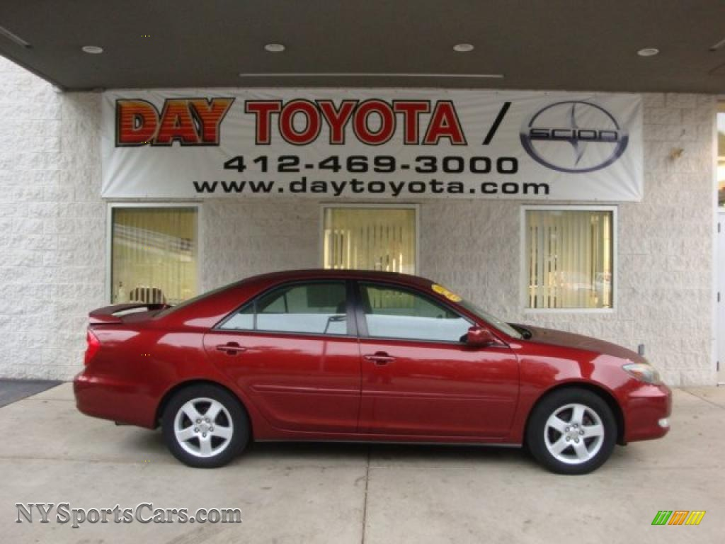 2002 Toyota Camry LE in Salsa Red Pearl - 018914   NYSportsCars.com - Cars for sale in New York