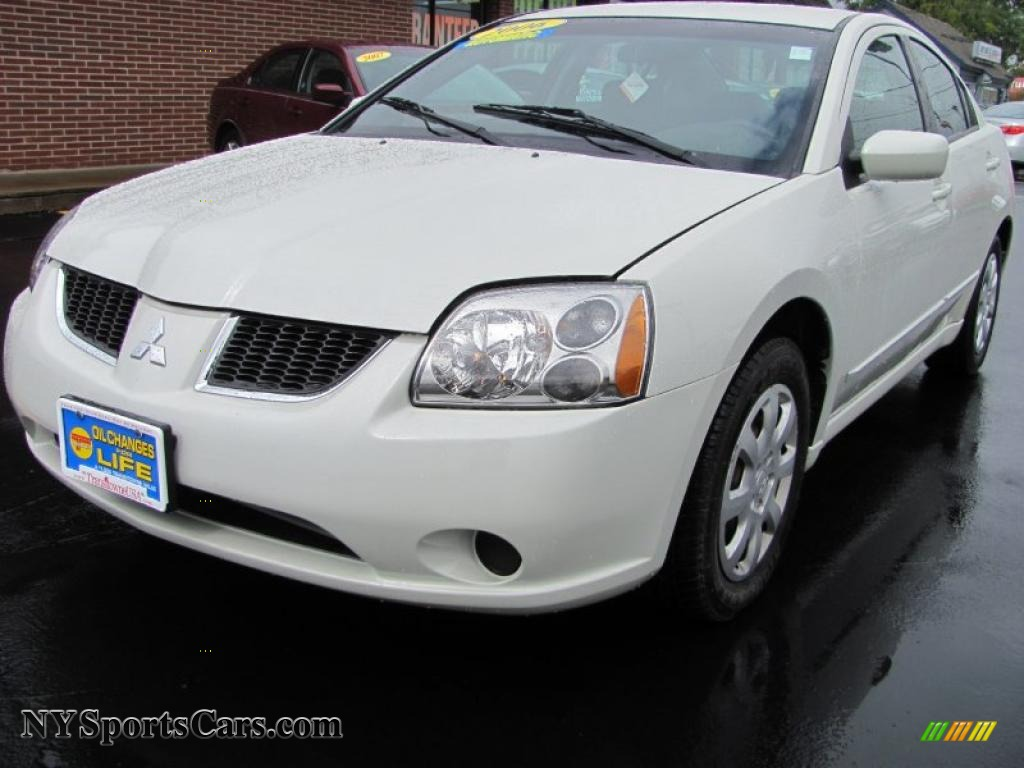 2006 mitsubishi galant es in dover white pearl 016164. Black Bedroom Furniture Sets. Home Design Ideas