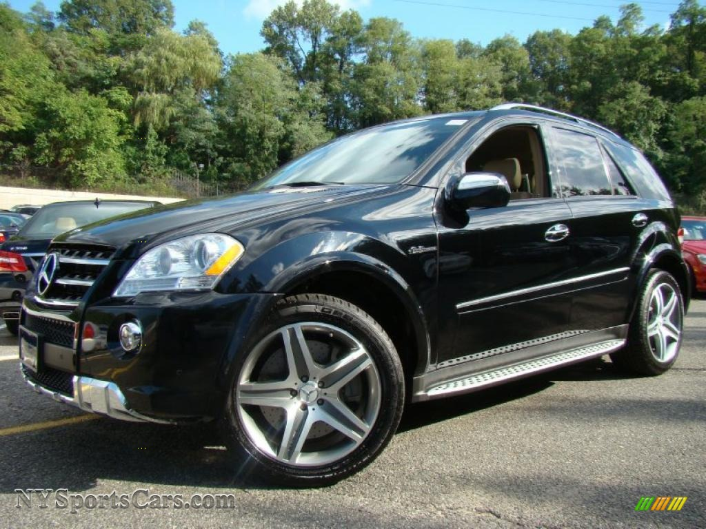 2009 mercedes benz ml 63 amg 4matic in black 461946 for Mercedes benz ml 350 2009