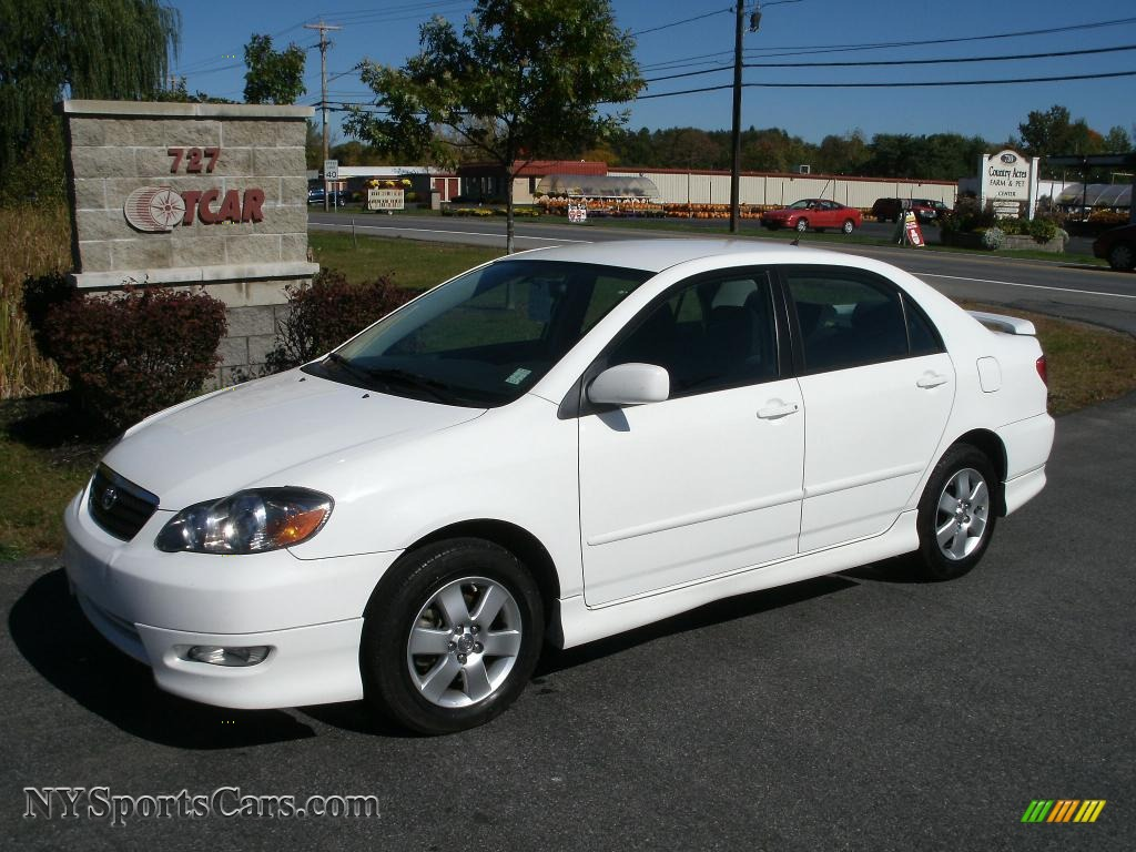 2008 toyota corolla s in super white 902076 cars for sale in new york. Black Bedroom Furniture Sets. Home Design Ideas