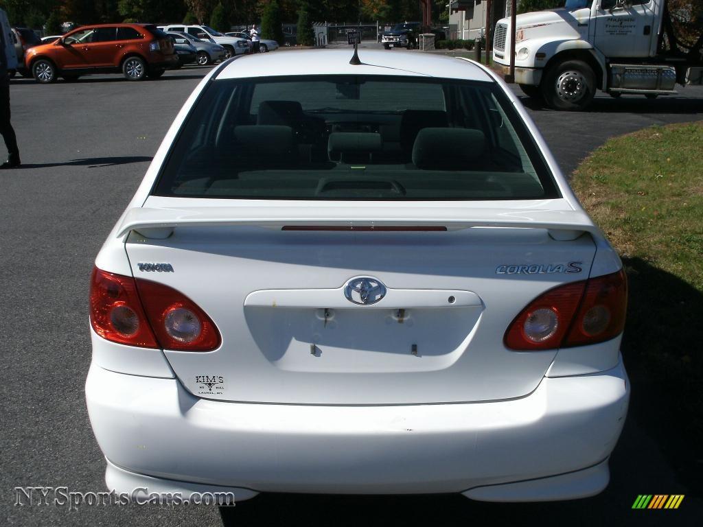 2014 Toyota Corolla For Sale >> 2008 Toyota Corolla S in Super White photo #5 - 902076 ...