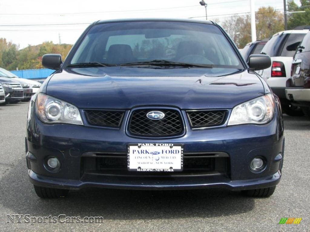 2006 Subaru Impreza 2 5i Sedan In Regal Blue Pearl Photo