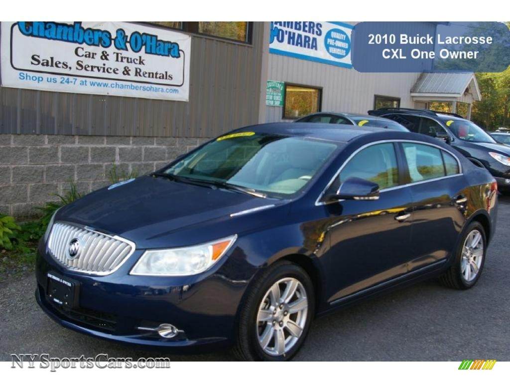 2010 buick lacrosse cxl in midnight blue metallic 148180 cars for sale in. Black Bedroom Furniture Sets. Home Design Ideas