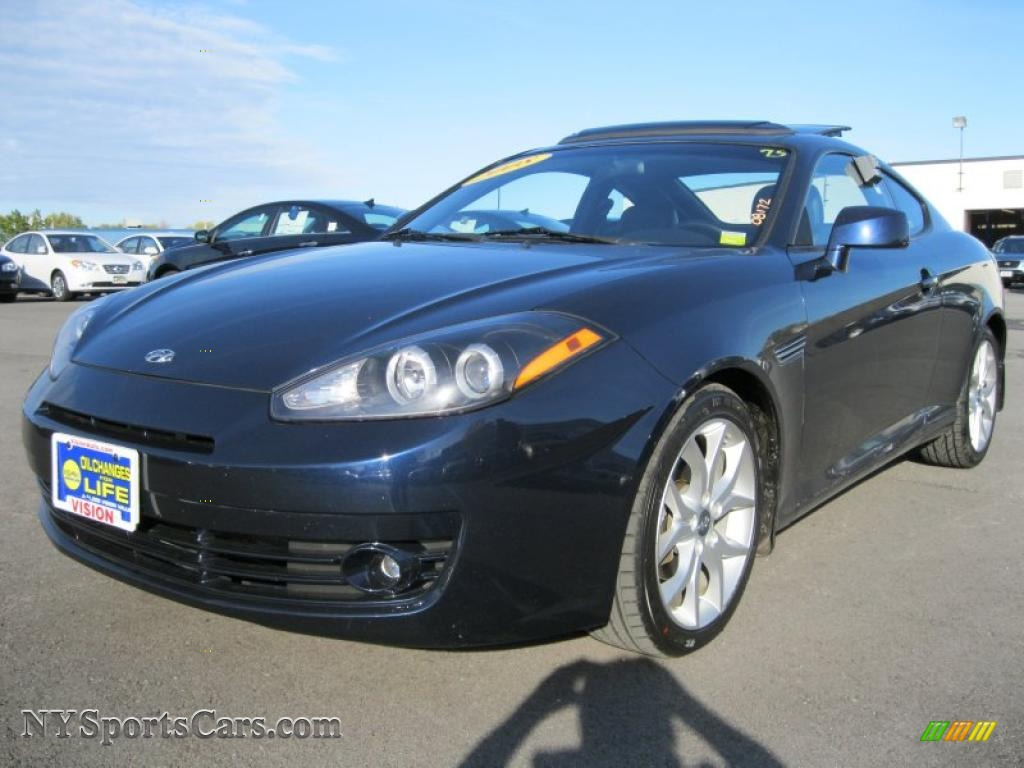 2008 hyundai tiburon gt in regatta blue 282448. Black Bedroom Furniture Sets. Home Design Ideas