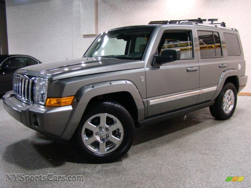 2007 jeep commander limited 4x4 in mineral gray metallic. Black Bedroom Furniture Sets. Home Design Ideas