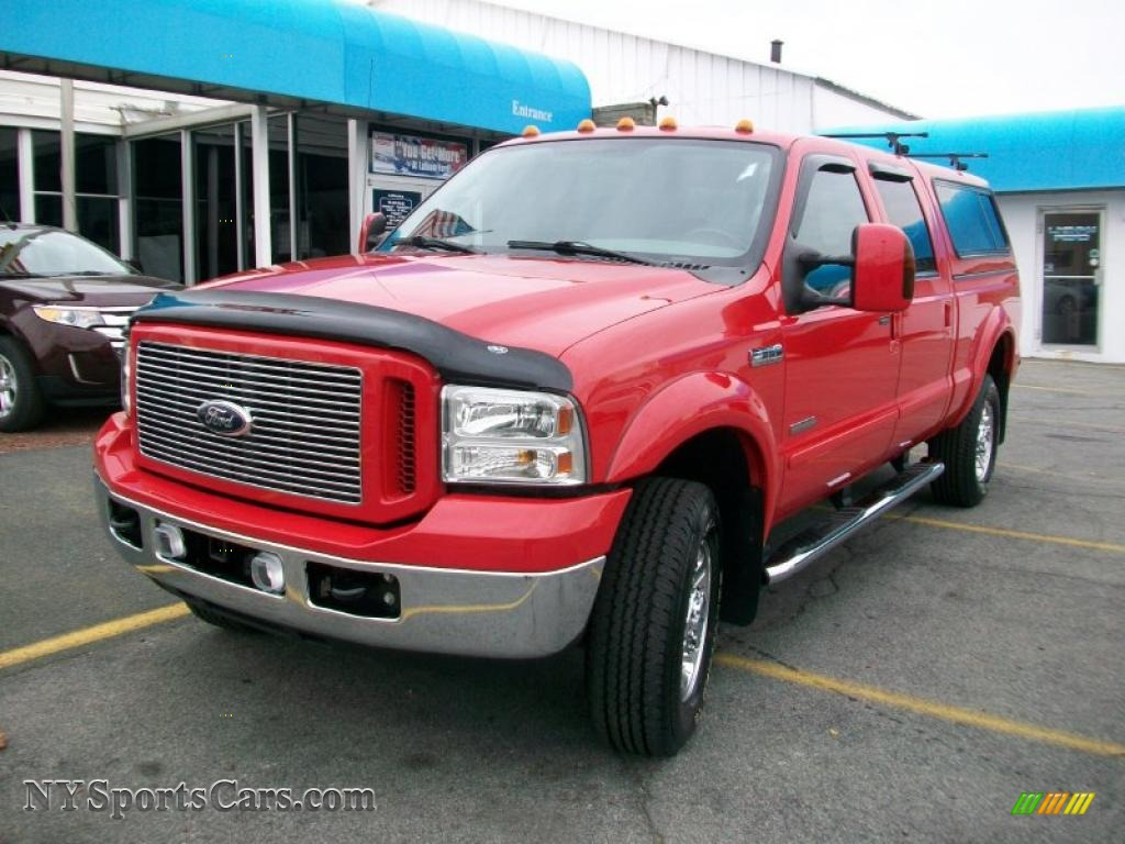 2007 ford f350 super duty xlt crew cab 4x4 in red a04886. Black Bedroom Furniture Sets. Home Design Ideas