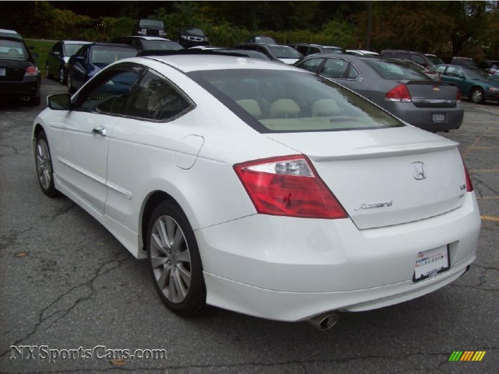 2010 honda accord ex l v6 coupe in taffeta white photo 2 007827 cars for. Black Bedroom Furniture Sets. Home Design Ideas