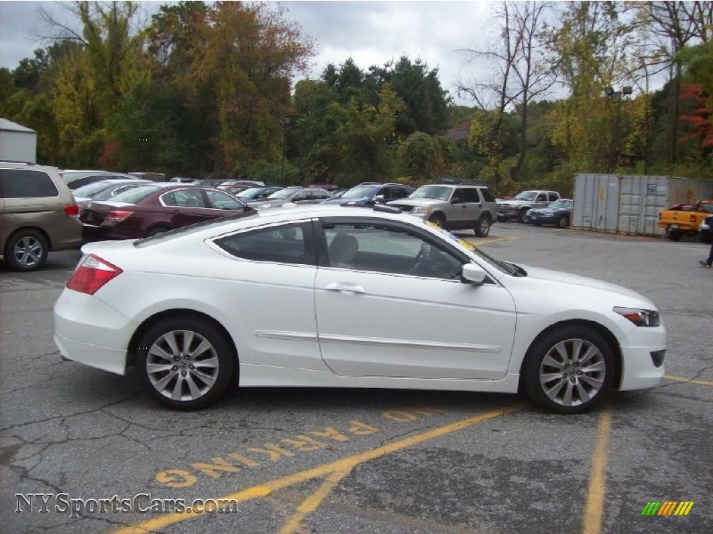 2010 honda accord ex l v6 coupe in taffeta white photo 24. Black Bedroom Furniture Sets. Home Design Ideas