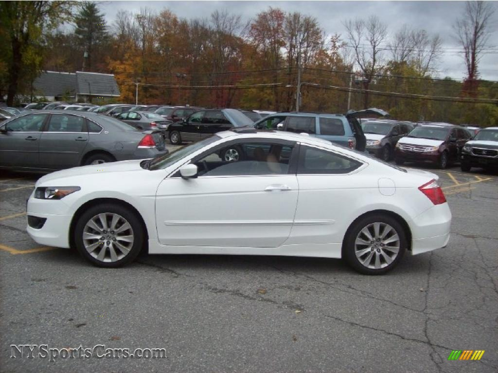 2010 Honda Accord Ex L V6 Coupe In Taffeta White Photo 25