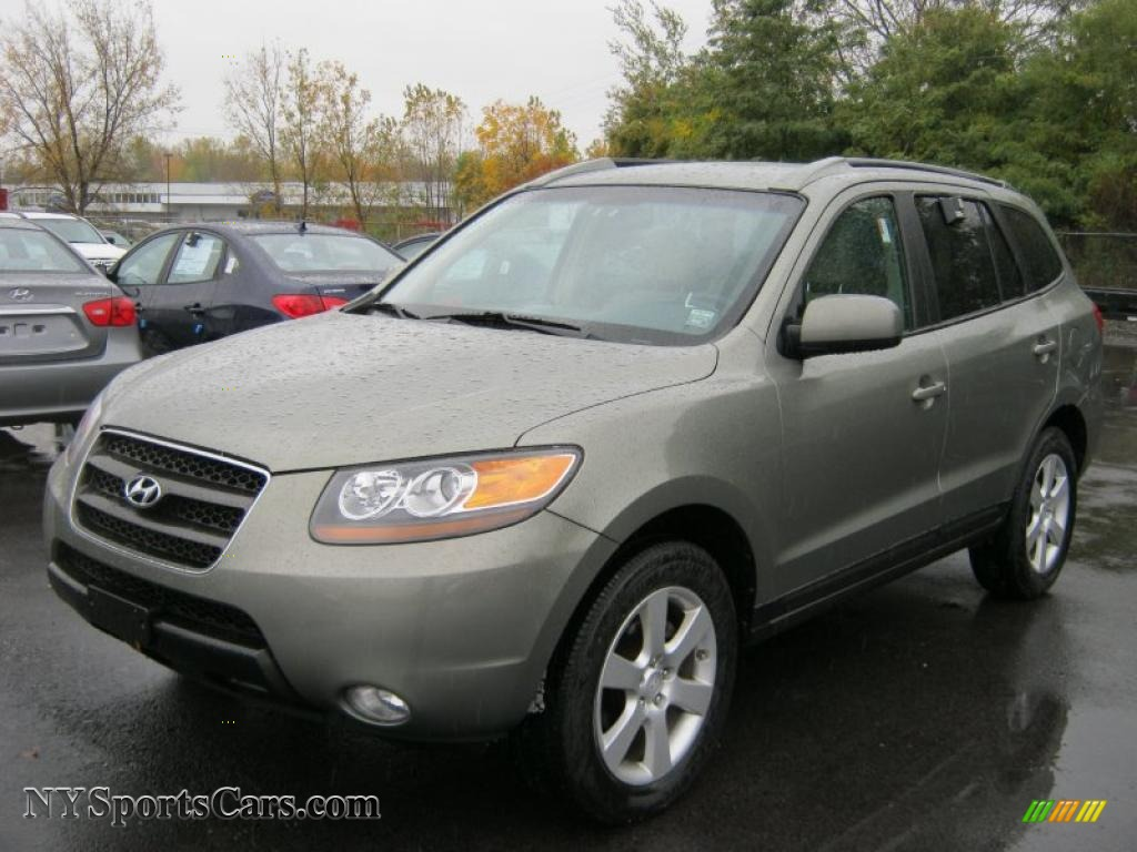 2007 Hyundai Santa Fe Limited In Natural Khaki Green