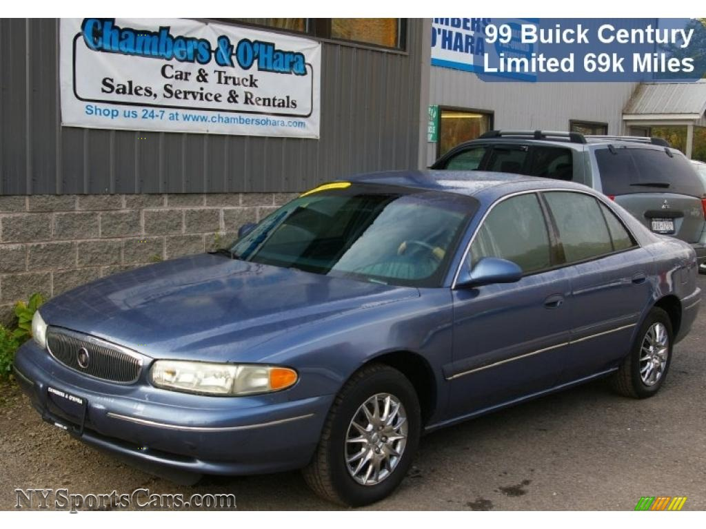 1999 buick century limited in twilight blue pearl 517011 nysportscars com cars for sale in new york nysportscars com