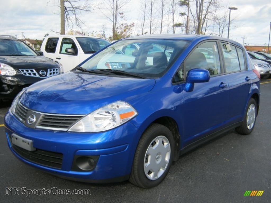 2009 Nissan Versa 1 8 S Hatchback In Blue Metallic 387814 Nysportscars Com Cars For Sale In New York