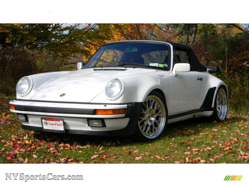 1988 porsche 911 turbo cabriolet in grand prix white 070244 cars for sale. Black Bedroom Furniture Sets. Home Design Ideas