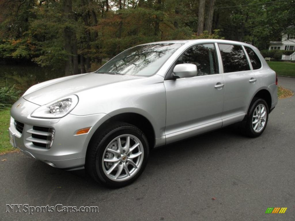 2008 porsche cayenne s in crystal silver metallic a40311 cars for sale in. Black Bedroom Furniture Sets. Home Design Ideas