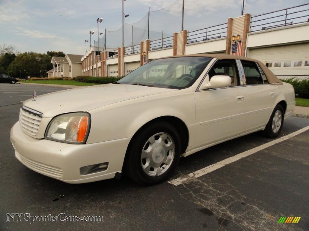 2002 cadillac deville sedan in white diamond pearl 143944 cars for sale. Black Bedroom Furniture Sets. Home Design Ideas